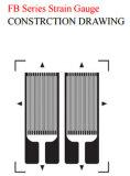 Doppio estensimetro lineare doppio della stagnola del Constantan Bf350-3fb per la cella di caricamento/il sensore di pesatura