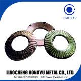DIN 6798 톱니 모양으로 한 자물쇠 세탁기 스테인리스 4.8 6.8 8.8