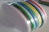 Panneau vert et blanc de 3 couches de HDPE