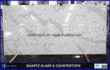 건축재료 단단한 지상 탁상용 싱크대를 위한 인공적인 Calacatta 석영 돌