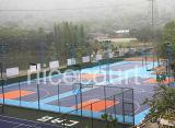 Pavimentazione di gomma di collegamento per la corte di sport esterni, pavimento della corte di sport