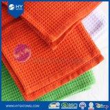 Toallas de segunda mano Yarn-Dyed del bordado del diseño de la galleta