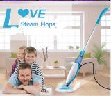 Mop professionale del vapore del pavimento nudo con il LED (KB-Q1407)