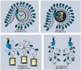 Различные типы изготовленный на заказ часы стены 65*65cm металла
