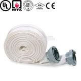 Boyau résistant au feu de PVC de toile flexible colorée de 5 pouces