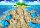 Kasten-Seegeschöpf-Sand-Bewegungs-Sand-Spiel-Sand DIY des Sand-3D scherzt Spielzeug-pädagogische Spielwaren