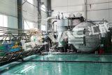 Mobilier en tôle horizontale en acier inoxydable PVD Vacuum Coating Machine