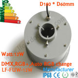 IP68 Waterproof o certificado de Ce&RoHS, luz do bocal da fonte do diodo emissor de luz das luzes da fonte do diodo emissor de luz 12W