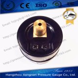 黒い鋼鉄ミニチュア概要の圧力計
