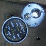 Manometro dell'olio del ventilatore con un olio liquido di 65mm