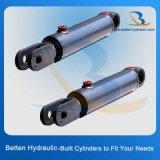 Cilindro hidráulico del acero de acero e inoxidable