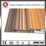 Laminado decorativo de la alta presión del Formica de madera del grano