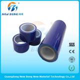 高く軽いプラスチック部品のための青いカラーポリエチレンの自己接着フィルム