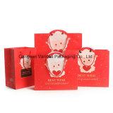 Cmyk druckte verpackenden Papierbeutel für Kleidung/Geschenk/Kosmetik