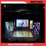 Afficheur LED P3 de location mince extérieur pour la publicité d'exposition d'étape