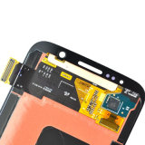 Pantalla del LCD del teléfono celular para el negro S6/S7/la pantalla táctil blanca de la visualización