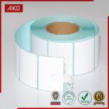 Le papier thermosensible étiquette Rolls pour le constructeur sur un seul point de vente