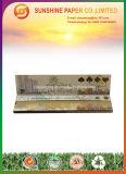 12.5GSM het bruine Rokende Rolling Document van de Kleur met de Slanke Grootte van de Koning