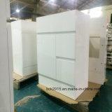 Exportação moderna ao gabinete de banheiro do MDF de Estados Unidos, gabinete da exportação de banheiro branco