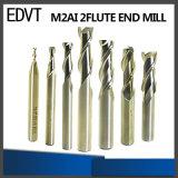 Edvt M2ai 2fluteの端製造所の切削工具