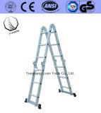 De brede Ladder van de Stap van het Aluminium van Verscheidenheden