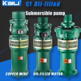 bomba de mina (de vários estágios) submergível Oil-Filled da bomba da agua potável da bomba de 8Stage QY