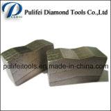 Segmento del diamante del granito de la dimensión de una variable del bloque para el corte de mármol de la piedra arenisca