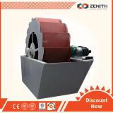 Planta móvel da máquina de lavar da areia para o processo de lavagem da areia em India