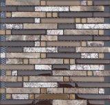 ガラスモザイク組合せの大理石、ガラスタイルのモザイク壁画パターン