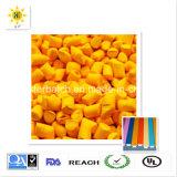 Masterbatch giallo ambientale con qualità eccellente ed il prezzo ragionevole