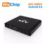 Cadre de l'androïde 6.0 TV d'Ax5 Amlogic S905X 1GB 8GB