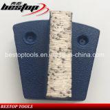 Hulpmiddelen van de Plaat van Werkmaster de Concrete met 2 Spelden
