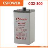 Batería profunda del gel del ciclo de la fabricación 2V300ah de China - almacenaje casero del uso