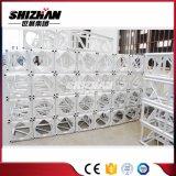 El braguero cuadrado del tornillo/del tornillo de la aleación de aluminio de Shizhan 400*4000m m con el triángulo consolida la placa