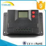 Controlador solar da carga de Cm20d-10A-USB 10A 12V 24V