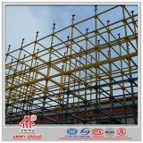 El andamio barato del acero apoyó la estructura del marco para el concreto