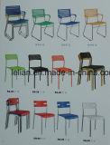 크롬 강철 프레임 다채로운 가죽 의자 도매