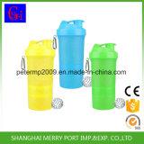 Выполненная на заказ пластичная бутылка BPA трасучки протеина бутылки воды свободно
