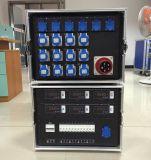 Rectángulo eléctrico de la fuente audio portable de la etapa