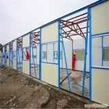 Edificio de la estructura de acero del bajo costo para el mercado africano