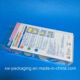 Коробка горячего сбывания пластичная для упаковывать волдыря