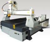 3D que talla la máquina del ranurador del CNC con rotatorio