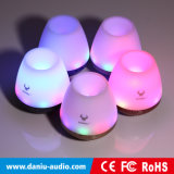 O melhor altofalante de venda de Bluetooth com música do cartão do TF da sustentação da luz do diodo emissor de luz