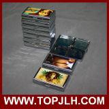 Caixa de cigarro do metal da impressão de transferência do Sublimation da capacidade 14PCS