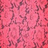 Tessuto di nylon alla moda del merletto del jacquard per l'indumento