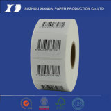 Etiqueta adesiva do rolo térmico da etiqueta/etiqueta térmicas da etiqueta