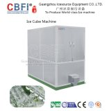 Capacidade diária máquina do cubo de gelo de 1 tonelada