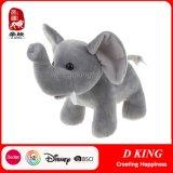 Boneca enchida macia personalizada costume do elefante do luxuoso para miúdos