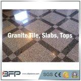 Mattonelle di pavimentazione di pietra naturali del granito/mattonelle di pavimento di legno di sguardo