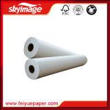 Papier de sublimation de la qualité Fw75GSM 1.118m*100m de Transport-Gicleur pour Mme à grande vitesse JP d'imprimante à jet d'encre